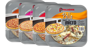Pizzas format individuel - 20 cm micro
