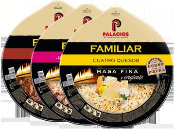 Pizzas Format familier - 32 cm