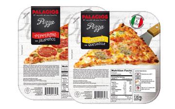 Pizzas surgelées mini USA