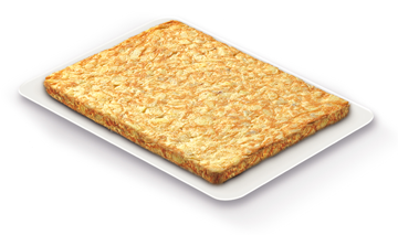 Omelette rectangulaire