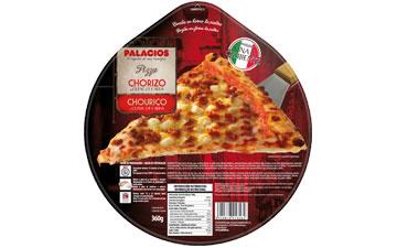 Pizza Chorizo et fromage de chèvre