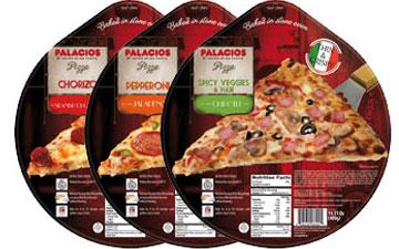 Pizzas surgelées format standard - 27 cm USA