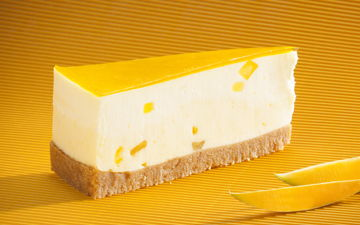 Cheesecakes american style palacios - Cheesecake fruit de la passion ...