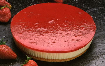 Cheese cake fraise